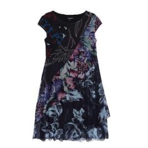 デシグアル Desigual DRESS SHORT SLEEVE VEST_CLEVELAND (マルチ)|ブランド公式 LOCOMALL ロコモール