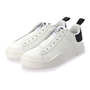 ディーゼル DIESEL ローカットスニーカー (WHITE)S-CLEVER SO W  sneakers|ブランド公式 LOCOMALL ロコモール
