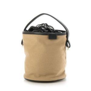 ドゥアルシーヴ DOUX ARCHIVES 巾着バケットBAG (BEIGE)|ブランド公式 LOCOMALL ロコモール