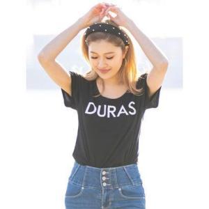 デュラス DURAS DURASロゴTシャツ (BLACK)|ブランド公式 LOCOMALL ロコモール