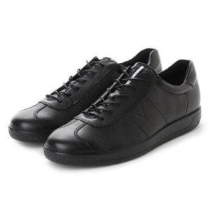 エコー ECCO Mens Soft 1 Tie (BLACK)|locondo-shopping