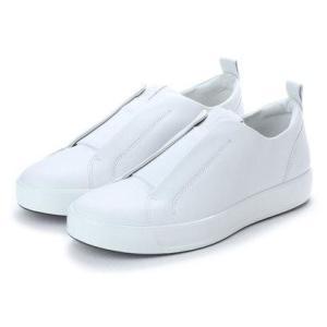 エコー ECCO Mens Soft 8 Stretch Low (WHITE)|locondo-shopping