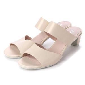 エコー ECCO SHAPE SLEEK SANDAL 45 Shoe (VANILLA METALLIC) ブランド公式 LOCOMALL ロコモール