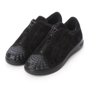 ジェオックス GEOX SNEAKERS (BLACK)|ブランド公式 LOCOMALL ロコモール