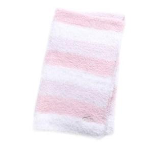 ジェラートピケ gelato pique ジェラートグラデボーダーブランケット (ピンク)