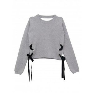sidelaceup 2way knit (gray)|ブランド公式 LOCOMALL ロコモール