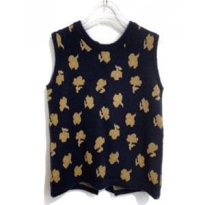 flower jacquard knit (navy)|ブランド公式 LOCOMALL ロコモール