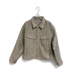 flower jacquard jacket (lightgreen)|ブランド公式 LOCOMALL ロコモール