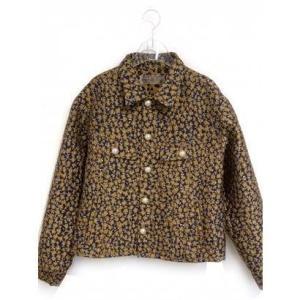 flower jacquard jacket (navy)|ブランド公式 LOCOMALL ロコモール