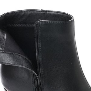 ジェリービーンズ JELLY BEANS メタルポイントヒールショートブーツ 141-7392 (黒)|locondo-shopping|06