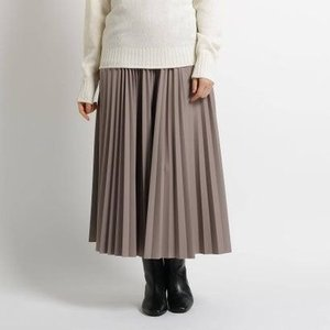 ジェット ニューヨーク JET NEWYORK 【WEB限定カラーあり/洗える】ウエストゴム クロップドプリーツスカート (ライトベージュ) ブランド公式 LOCOMALL ロコモール