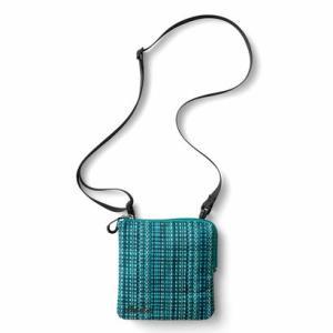 クラソ Kraso はっ水仕立て ポケット感覚で使いたい 仕分け上手なスクエアポシェット (グリーン)|ブランド公式 LOCOMALL ロコモール