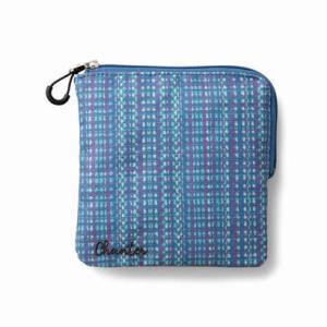 クラソ Kraso はっ水仕立て ポケット感覚で使いたい 仕分け上手なスクエアポシェット (ブルー)|ブランド公式 LOCOMALL ロコモール