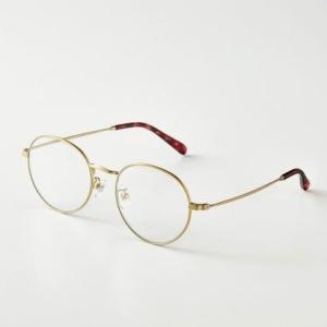 クラソ Kraso UVカット99% 細フレームでさりげない 眼鏡感覚のクリアサングラス (ゴールド)|ブランド公式 LOCOMALL ロコモール