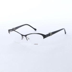 ロエベ LOEWE メガネ 眼鏡 アイウェア レディース メンズ (ブラック) ブランド公式 LOCOMALL ロコモール