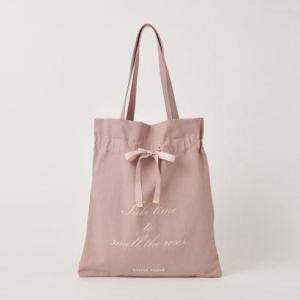 レッセ パッセ LAISSE PASSE フロントリボンロゴバッグ (ピンク)|ブランド公式 LOCOMALL ロコモール