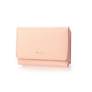 シュヴァル エレ Le cheval aile レザーコンパクト三つ折り財布 (ピンク)|ブランド公式 LOCOMALL ロコモール