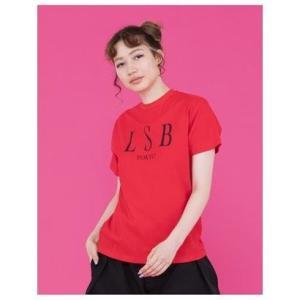little sunny bite LSBTOKYOtee/シンプルロゴTシャツ RED|ブランド公式 LOCOMALL ロコモール