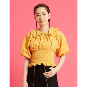 リトルサニーバイト little sunny bite puff sleeve short blouse (YELLOW)|ブランド公式 LOCOMALL ロコモール