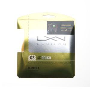 ルキシロン LUXILON 硬式テニス ストリング 4G ラフ 125 WRZ997114