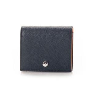 マッキントッシュ ロンドン MACKINTOSH LONDON 二つ折り財布 小銭が見やすいBOX札入れ (ネイビー)|ブランド公式 LOCOMALL ロコモール