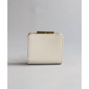 ミアン MIAN レザー スリム二折り財布 (アイボリー) ブランド公式 LOCOMALL ロコモール