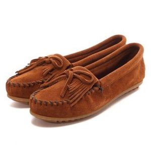 ミネトンカ MINNETONKA KILTY SUEDE MOC(BROWN)