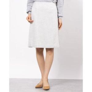 ミッシェルクラン アウトレット MICHEL KLEIN outlet スカート (ライトグレー)|ブランド公式 LOCOMALL ロコモール