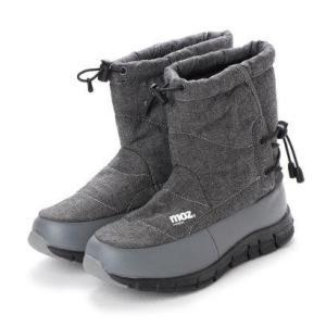 モズ moz 4cm防水ブーツ (GRAY)