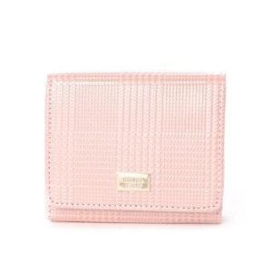 ナチュラルビューティー バッグアンドウォレット NATURAL BEAUTY BAG & WALLET チェックエンボス (ピンク)|ブランド公式 LOCOMALL ロコモール