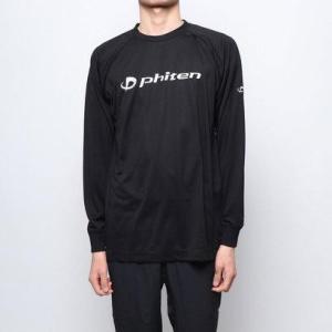 ファイテン Phiten バレーボール 長袖Tシャツ RAKUシャツSPORTS(吸汗速乾)長袖 J...