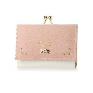 プリムヴェールリズリサ Primevere LIZ LISA アロマ 二つ折りがま口財布 (ピンク)|ブランド公式 LOCOMALL ロコモール