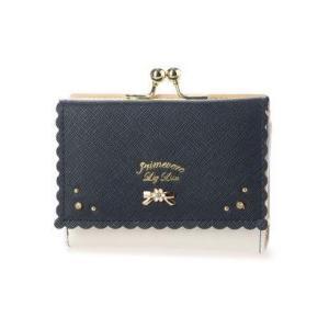 プリムヴェールリズリサ Primevere LIZ LISA アロマ 二つ折りがま口財布 (ネイビー)|ブランド公式 LOCOMALL ロコモール