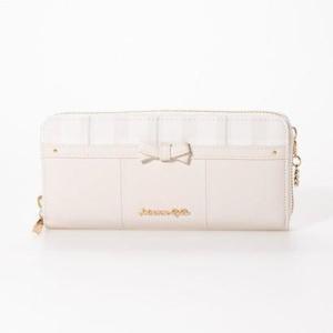プリムヴェールリズリサ Primevere LIZ LISA エナ ラウンドファスナー長財布 (ホワイト)|ブランド公式 LOCOMALL ロコモール