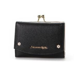 プリムヴェールリズリサ Primevere LIZ LISA マカロン 二つ折りガマ口財布 (ブラック)|ブランド公式 LOCOMALL ロコモール