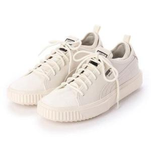 プーマ PUMA ブレーカー メッシュ PA (WHISPER WHITE-WHISPER WHITE)|locondo-shopping