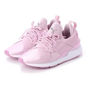 プーマ PUMA ミューズ サテン 2 ウィメンズ (WINSOME ORCHID-SMOKY GRAPE)|locondo-shopping