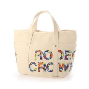ロデオクラウンズ RODEO CROWNS FLOWER PT TOTE M C06-1-00055 (オフホワイト)|ブランド公式 LOCOMALL ロコモール
