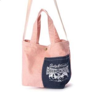 ロデオクラウンズ RODEO CROWNS CORDUROY SHOLDER BAG C06-1-00042 (ピンク)|ブランド公式 LOCOMALL ロコモール