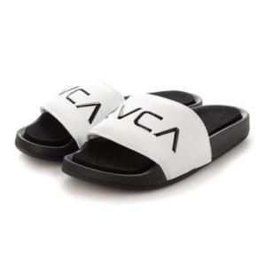 ルーカ RVCA RVCA/ルーカ スライドサンダル BB043-979 (ホワイト)|ブランド公式 LOCOMALL ロコモール