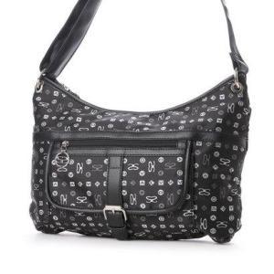 サボイ SAVOY サボイのモノグラムロゴ柄のバッグ (ブラック)|ブランド公式 LOCOMALL ロコモール