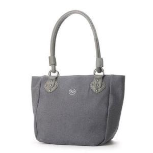 サボイ SAVOY デニム地のバッグ (グレー)|ブランド公式 LOCOMALL ロコモール