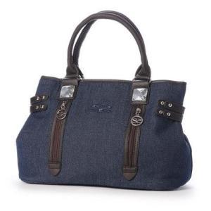 サボイ SAVOY ハンドバッグ (ブルー)|ブランド公式 LOCOMALL ロコモール