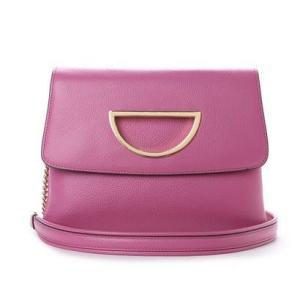 サマンサタバサ VioletD(バイオレットD)チェーン付きクラッチバッグ新色 ピンク
