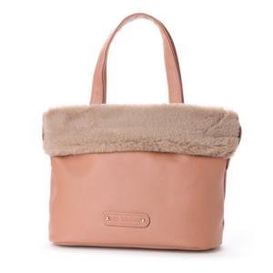 ソフィア SOPHIA203 ファー取り外し可!2フェイス手提げバッグ (ピンク) ブランド公式 LOCOMALL ロコモール