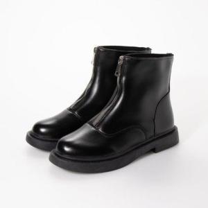 シュベック SVEC フロントジップブーツ (ブラック)|ブランド公式 LOCOMALL ロコモール