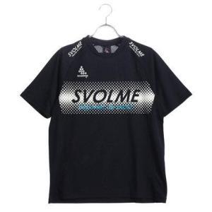 スボルメ SVOLME メンズ サッカー/フットサル 半袖シャツ ロゴトレーニングトップ 181-6...