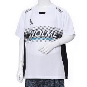 スボルメ SVOLME サッカー/フットサル 半袖シャツ Jr ロゴトレーニングトップ 181-61...