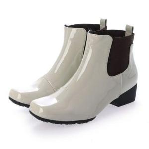 【レイン対応】テーン tehen 雨の日も安心♪レイン対応ショートゴアブーツ TN4500 (アイボリーエナメル)|ブランド公式 LOCOMALL ロコモール
