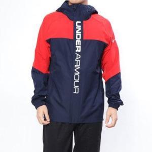 アンダーアーマー UNDER ARMOUR メンズ 野球 長袖ウインドブレーカー UA 9 Strong SWoven Jacket 1331498|locondo-shopping